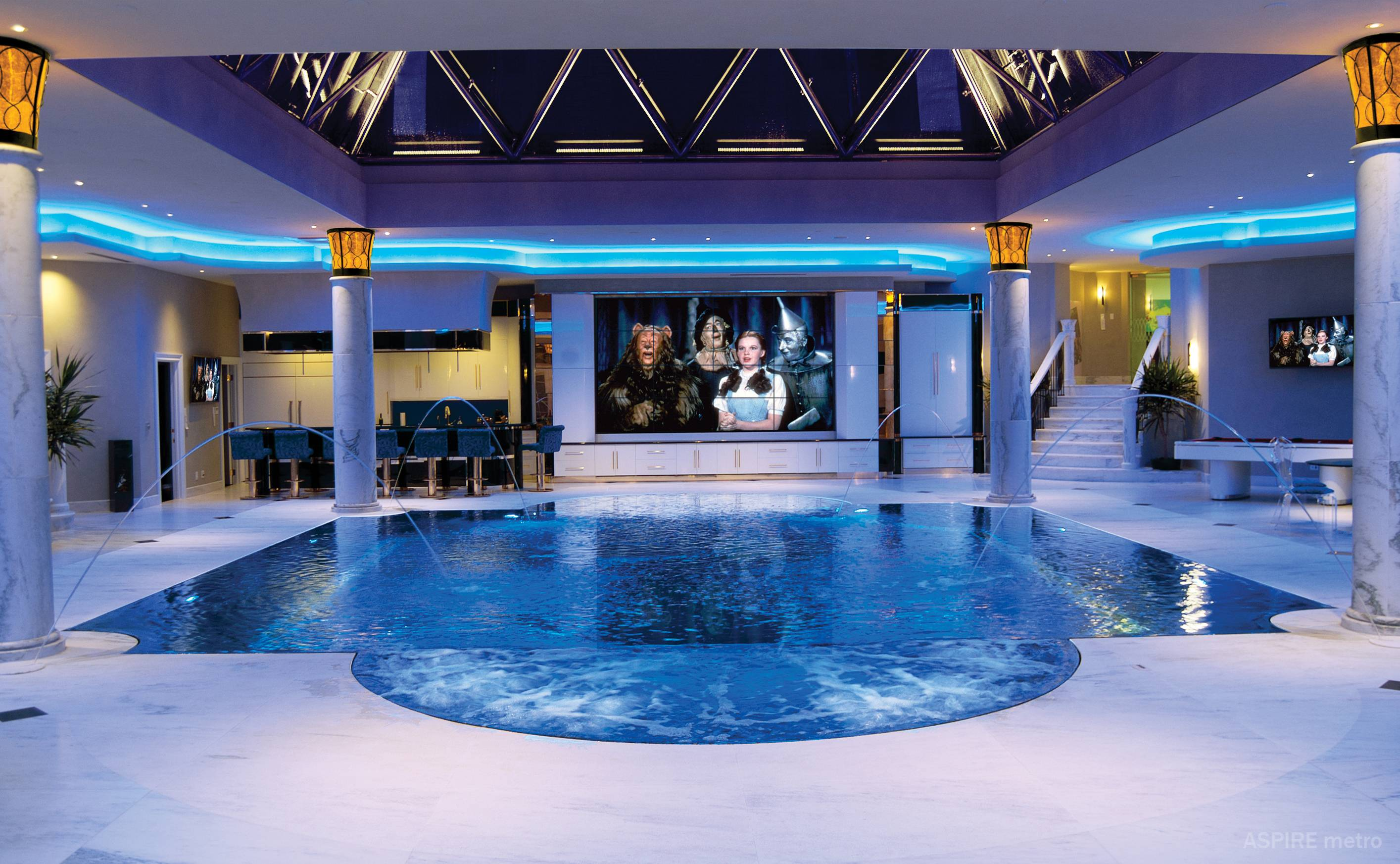 Home Pool Designs | 8 Cozy And Cool Indoor Pool Rooms Luxury Pools Outdoor Living