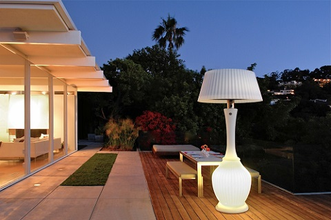 stylish outdoor heaters to warm up your patio luxury pools