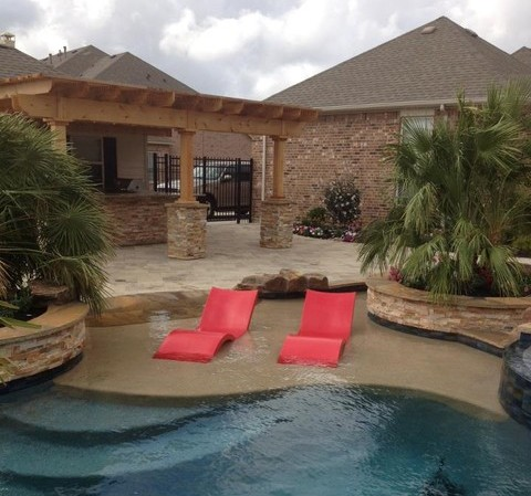 Gentil Made Of A High End Resin Resistant To Pool Chemicals And UV Rays, Ledge  Loungers Are Said To Last 10 Plus Years. Weighting Only 35 Lbs, They Are  Easily ...