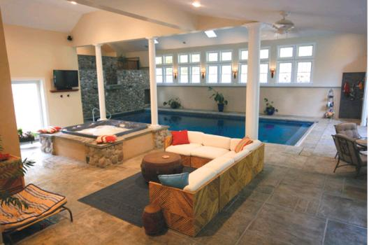 11 Inspiring Indoor Pool Designs - Luxury Pools + Outdoor Living