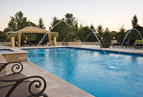 Water in Motion: Top Water Features for Pools - Luxury Pools ...