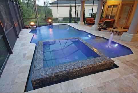 Pools with Spas: Top 5 Design Options for Pool Spa Combos ...
