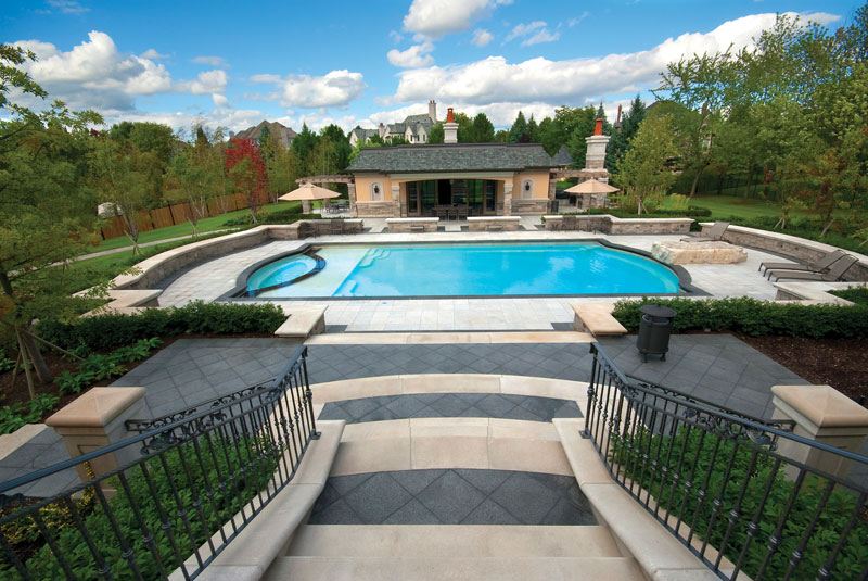 Grecian Style Pools Stand The Test Of Time And Fit In With All Types Properties