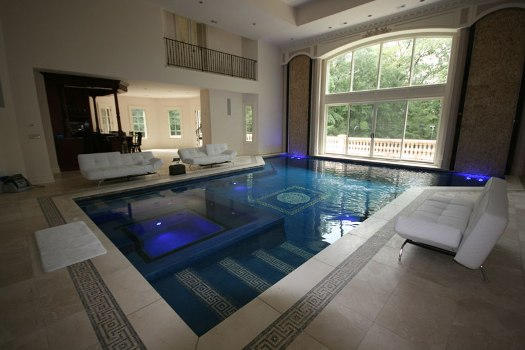 Photographed By Ed Vanluvender For Ramapo Valley Pool Service Inc An Indoor Design Should Incorporate The Overall Style And Architecture Of