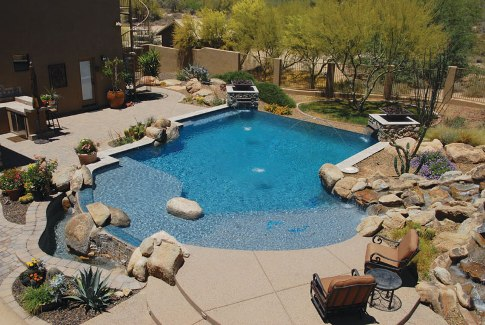 Top 6 Pool Deck Patio Design Ideas Luxury Pools Outdoor Living