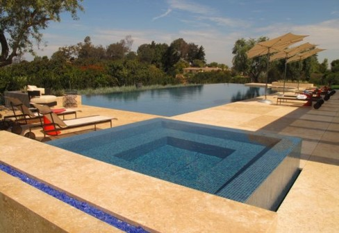 Country Pool Design with a Modern Twist - Luxury Pools + ...