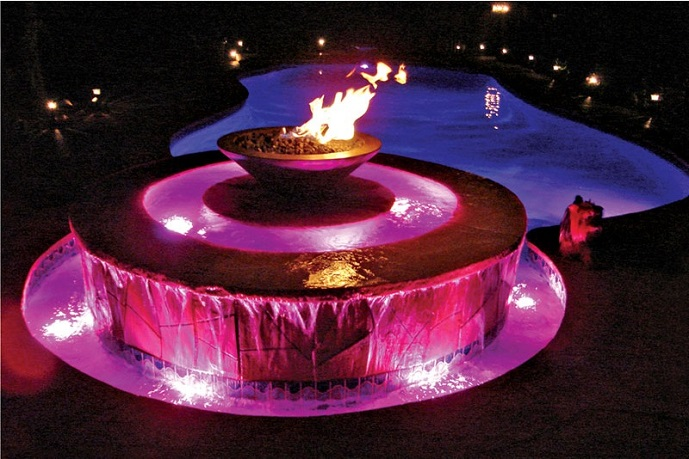 5 Dramatic Outdoor Fountains