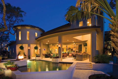 How To Update Your Backyard To Entertain At Night Luxury