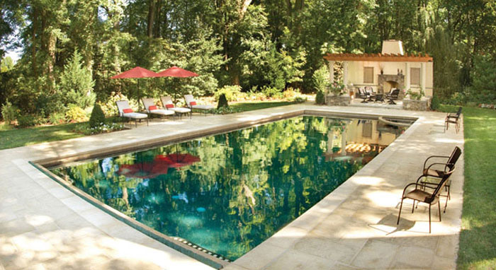 Designing a Poolscape: Blending the Pool, Home & Landscape - Luxury ...