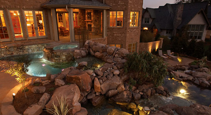 Natural Stone & Artificial Rock - Luxury Pools + Outdoor Living