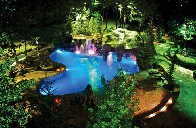 Secret Hideaways Spectacular Pool Caves Grottos Luxury Pools Outdoor Living