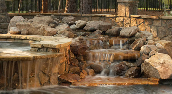 Water Features For Pools Design Installation Cost Luxury Pools Outdoor Living