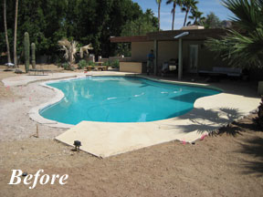 Many People Inherit A Pool From The Home S Previous Owners That Does Not Suit Their Needs Or Personality And Remodeling It Is One Of First