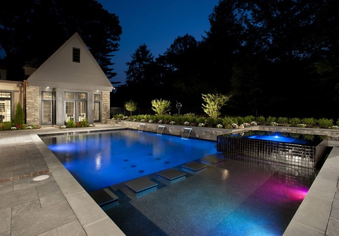 This Year Geometric Pool Shapes Are Making A Comeback While Some May Consider Designs To Be Simple Or Utilitarian