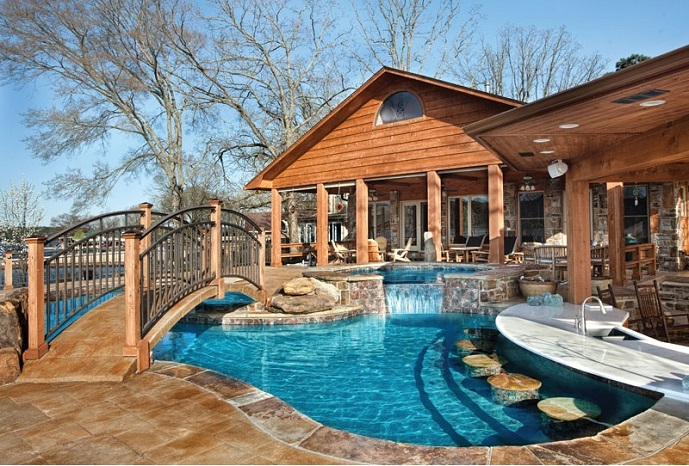 Top Trends in Pool and Spa Design - Luxury Pools + Outdoor ... on Outdoor Living Pool And Spa id=64465