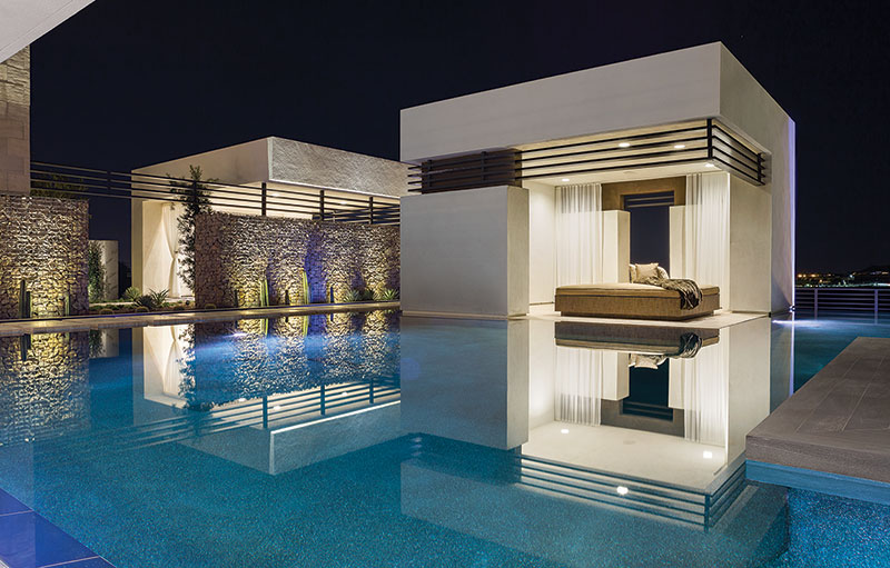 Luxury pools announces the 2014 pinnacle awards winners - Piscine miroir de luxe orleans ...