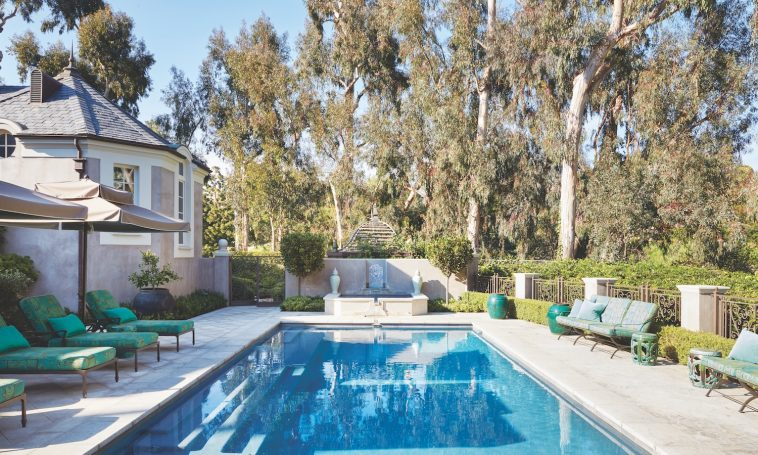 Dream Backyard Design At A Los Angeles Estate Luxury Pools Outdoor Living