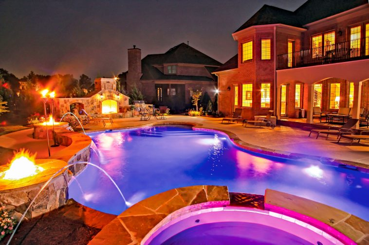 Light Up Your Outdoor Space Luxury Pools Outdoor Living