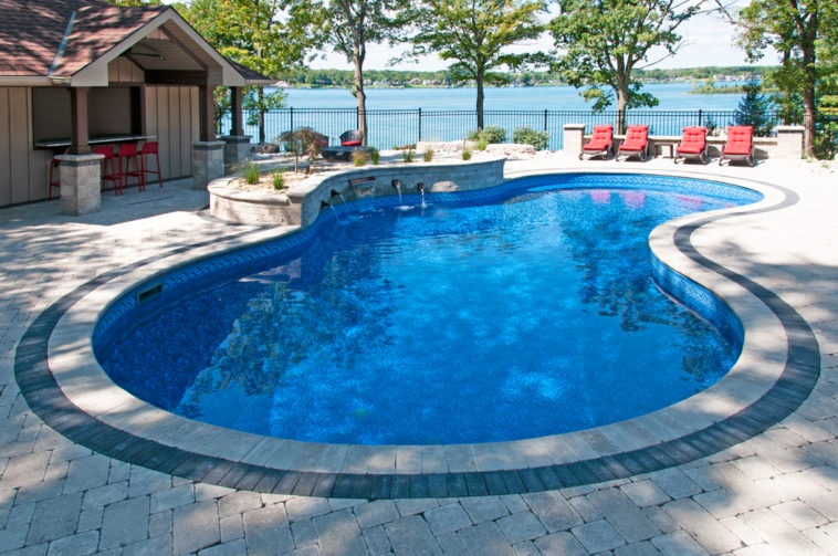 Build A Pool In Your Backyard With Latham Pools Visualizer Apps Luxury Pools Outdoor Living
